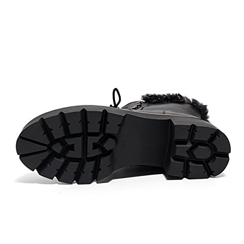 Nine Seven  Mid-calf Boots,  Damen Stiefel Schwarz