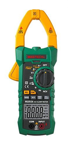 Mastech MS2015A Digital Clamp Meter Messzange 1000 Ampere True RMS Multimeter Frequenz Elektrische Kapazität Messgerät