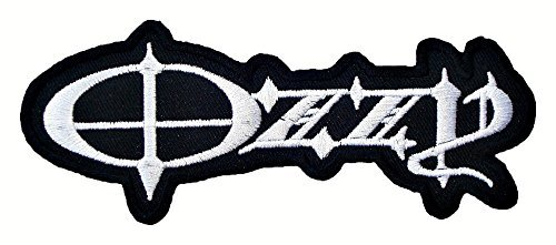 OZZY Osbourne crazy train t Shirts Logo MO05 Embroidery iron on Patches by MartOnNet Music Patch