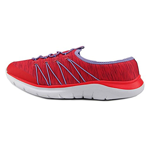 Easy Spirit e360 Mills Breit Textile Wanderschuh Red Mu Fb