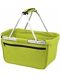 HALFAR - sac panier pliable - shopping courses provisions - 1803939 - vert clair