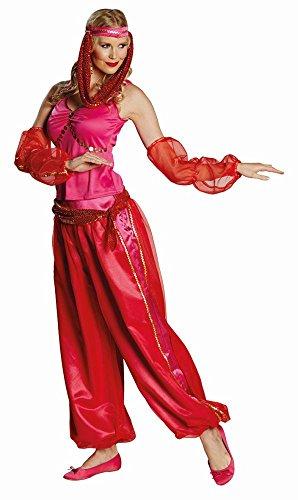Damen Kostüm Jeanie Bauchtänzerin Haremsdame Karneval Fasching Gr.42