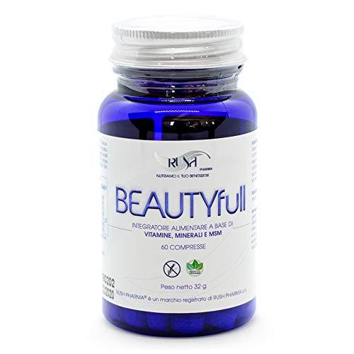 Biotina Per Crescita Capelli Integratore Per Capelli Unghie Pelle Anticaduta Forte Uomo Donna Vitamine Con Msm Rame Vitamina C Contrasta la Caduta