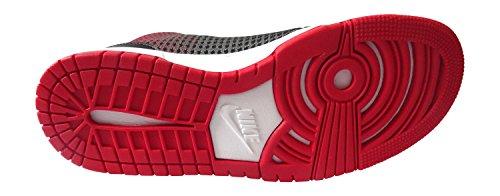 Nike Herren Kd Viii Nsw Lifestyle Basketballschuhe Schwarz / Rot / Silber (Blck / SLVR Unvrsty Rd-Mtllc-MTL)