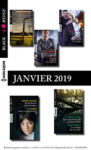 10 romans Black Rose (nº514 à 518 - Janvier 2019)