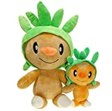 hhjxptst Plüsch Spielzeug, Pikachu, Pokemon, Nadel Kastanie Harleus, Beruhigen Puppe, Kissen, Ultra-weich, 30cm