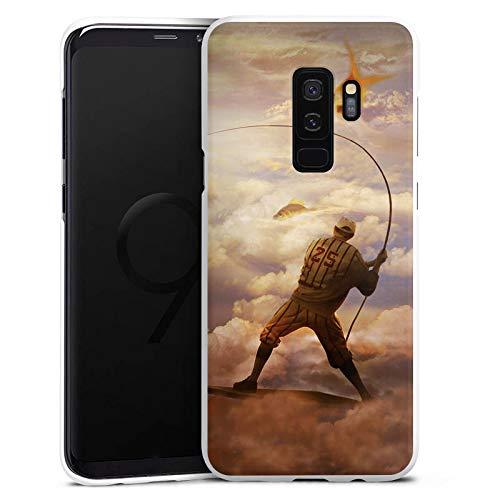 DeinDesign Hülle kompatibel mit Samsung Galaxy S9 Plus Duos Handyhülle Case Fisch Goldfisch Angeln -