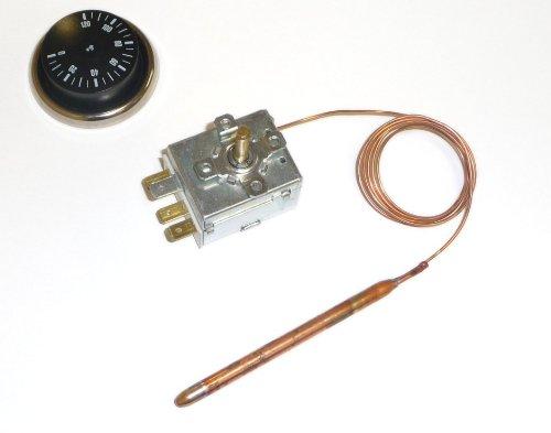 Universal-Thermostat mit Kapillarrohr und Fühler Potentialfrei 0-120 °C - Kapillarrohr-thermostat