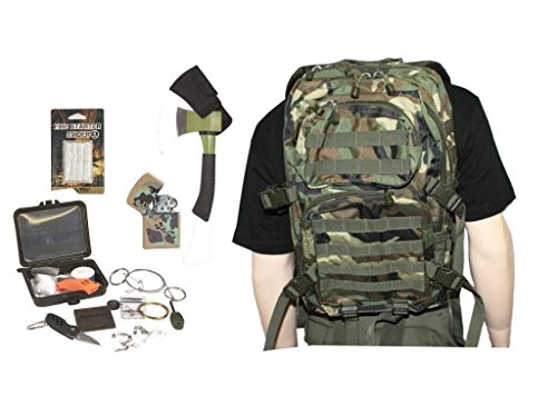 AOS-Outdoor Survival Set Trekking Outdoor Set Woodland