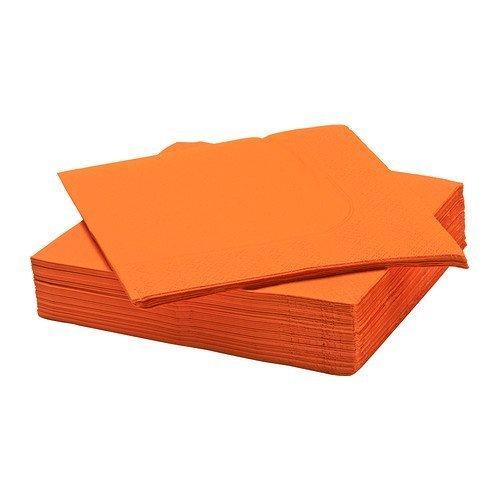 ikea-fantastik-tovaglioli-di-carta-40-x-40-cm-confezione-da-50-pezzi-colore-arancione