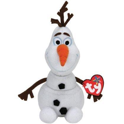 NEW Disney's Frozen Olaf Ty Beanie Babies Baby Snowman Plush
