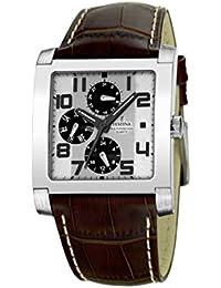 FESTINA Sport 16235/2 - Reloj unisex de cuarzo, correa de piel color marrón