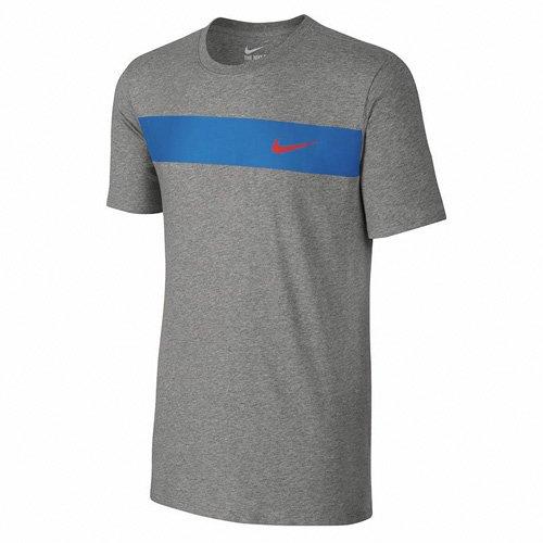 Nike Herren Avenue Jdi T-Shirt Dunkel Heidekraut grau/helles fotoblau