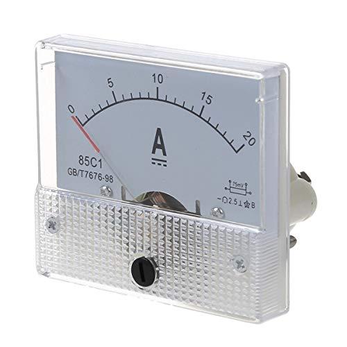 Neu 20A analog Ampere Panel Meter Stromstärke Amp Ampere Panel