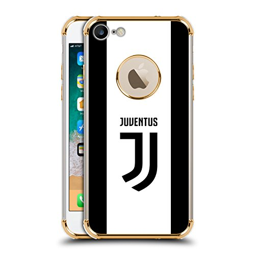 Ufficiale Juventus Football Club in Casa 2017/18 Race Kit Oro Una Barriera A Prova di Urto Case per iPhone 7 / iPhone 8