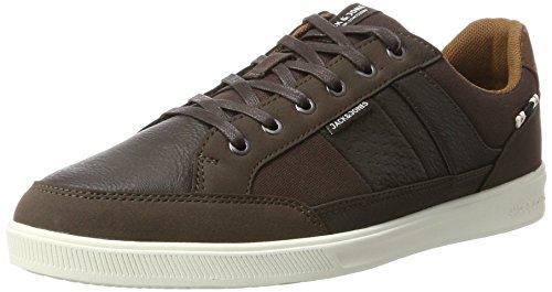 JACK & JONES Herren Jfwrayne PU Mix Java Sneaker, Braun (Java), 44 EU