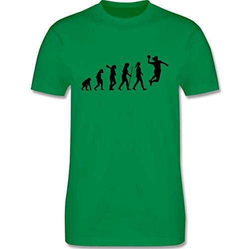 Evolution - Handball Evolution - Herren Premium T-Shirt Grün