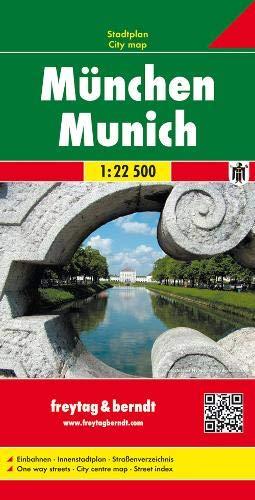 München, Stadtplan 1:22 500, Freytag Berndt Stadtpläne