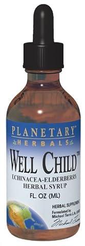 Bien Enfant, Echinacea-sureau Herbal Sirop, sans alcool - Planetary Herbals