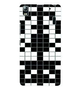 Fuson 3D Printed Pattern Designer Back Case Cover for Lenovo A7000 - D961
