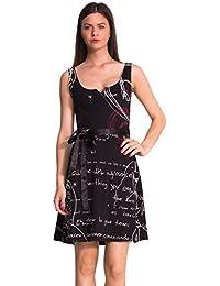 Desigual 51V20J5 - Vestido para mujer
