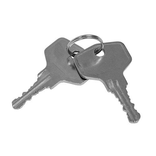 TecTake® 8 Fenstergriffe abschließbar Sicherheitsfenstergriff inklusive 2 Schlüssel pro Griff weiss - 3