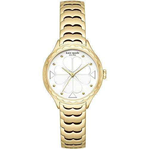 Kate Spade - Reloj para Mujer de Acero Inoxidable Dorado KSW1506