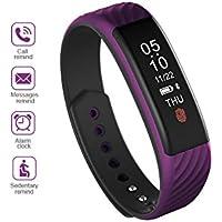 Rose Herzfrequenz und Fitness WristBand Fitness EooCoo Smart Armband