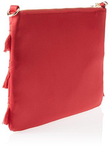 Pennyblack Scrigno, Borsa a Tracolla Donna, 26x18x2 cm (W x H x L) Rosso (Bordeaux)
