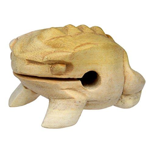 Schnauzer Percussion Sound Frog 8cm Wooden Guiro Percussion