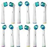 Testine di ricambio per spazzolino da denti elettrico con setole morbide testine compatibili con Braun Oral B