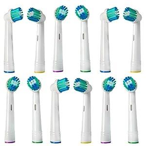 Banavos 24er Precision Clean Aufsteckbürsten für elektrische Oral-B Zahnbürsten Ersatzbürsten Ersatz Zahnbürsten für Braun & Oral B