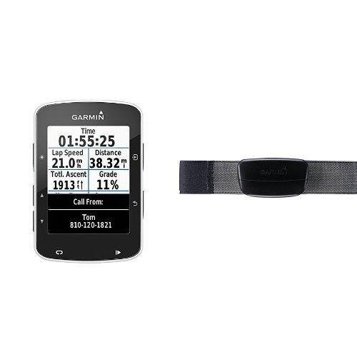 Garmin Edge 520 + Monitor de frecuencia cardiaca premium (correa blanda)
