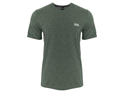 Hugo Boss Boss Herren T-Shirt Mix&Match T-Shirt R 10143871 303 Dark Green