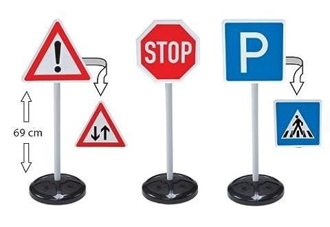 Big Toys Traffic School - Road Signs Set - NEW VERSION by Big Traffic School