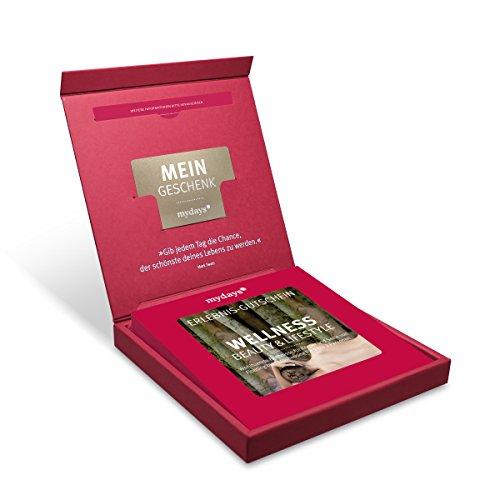 Erlebnis-Gutschein   mydays   WELLNESS, BEAUTY & LIFESTYLE   1-2 Personen   70 Erlebnisse an über 520 Standorte   Geschenkidee für Frauen   Inklusive Geschenkbox