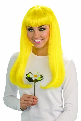 Rubie's Costume Co The Smurfs - Economy Smurfette Wig für Erwachsene
