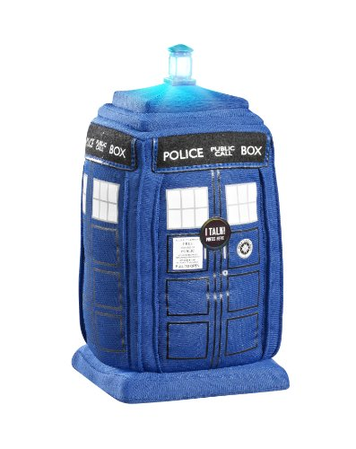 Doctor Who 9-inchTalking Plush with Light and Sound (Tardis)