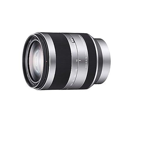 Sony Objectif SEL-18200 Monture E APS-C 18-200 mm F3.5-6.3