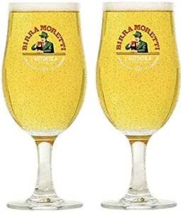 6 X Birra Moretti Pint Glas$es Brand New CE Man Cave Pub Bar Free P/&P