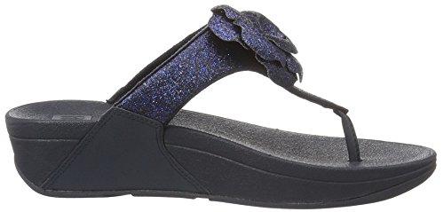 FitFlop Damen Glitterosa TM Flip-Flops Blue (Supernavy)