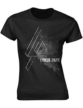 Tee Shack Ladies Linkin Park Chester Bennington Logo Ufficiale Donne Maglietta Signore