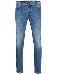 MUSTANG Vegas Skinny Hose Herren Jeans Freizeit-Hose Blau 3122 5641 53