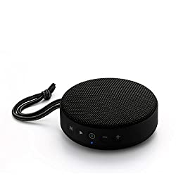 Portronics POR- 754 Sound Bun 6W Bluetooth Speaker with Mic, USB Port, Indicator Light, Micro SD Card Slot, AUX Mode (Black)