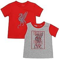 Liverpool FC Camiseta LFC Bebé Pack de 2 LFC Oficial