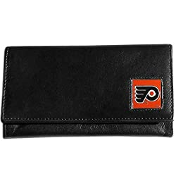 NHL Philadelphia Flyers Women's Leather Wallet