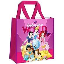 Kids Princesas Disney Bolsa Escolar, 38 cm, Rosa