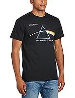 Pink Floyd Men's DSOTM Courier Short Sleeve T-Shirt