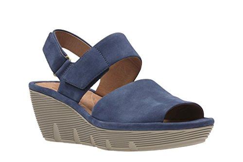 Sandali e infradito per le donne, colore Blu , marca CLARKS, modello Sandali E Infradito Per Le Donne CLARKS CLARENE ALLURE Blu Blau