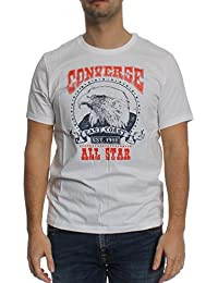 Converse T-Shirt Men EAGLE MUSIC HERITAGE 10001960 Weiß 102